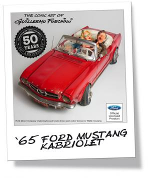 ´65 Ford Mustang kabriolet